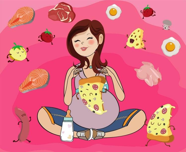"""""""Điểm danh"""" 30 loại thực phẩm bà bầu không nên ăn"""