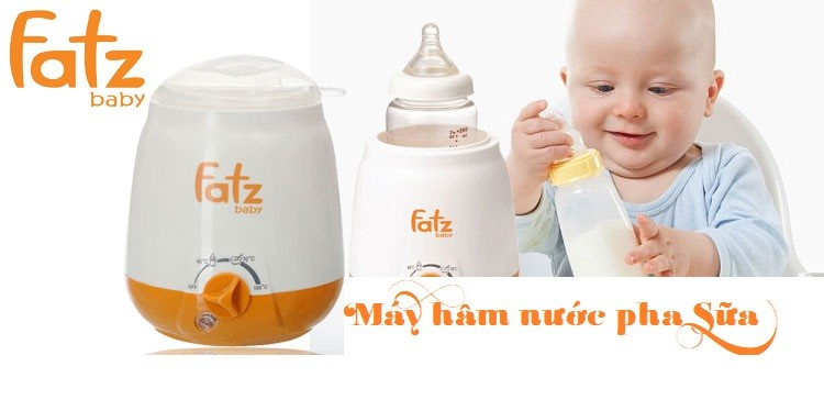 [Review] Tiện ích của máy hâm nước pha sữa Fatzbaby cho trẻ