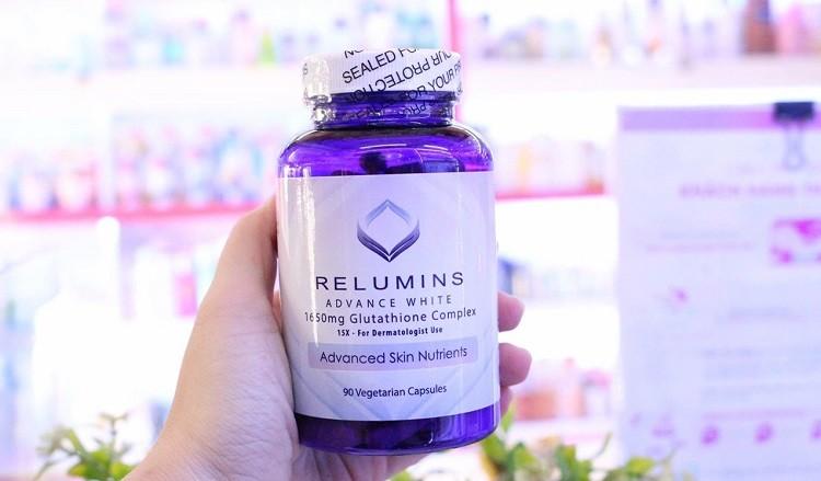 [Review] Viên uống trắng da Relumins Vitamin C Complex