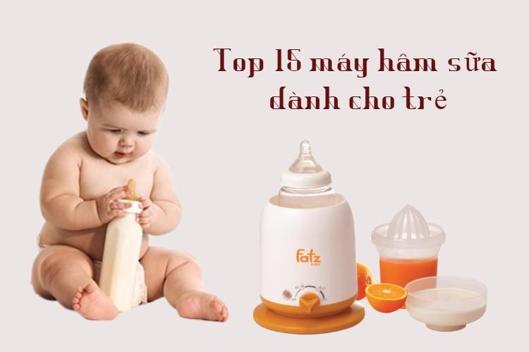 Top 13 loại máy hâm sữa tốt nhất hiện nay