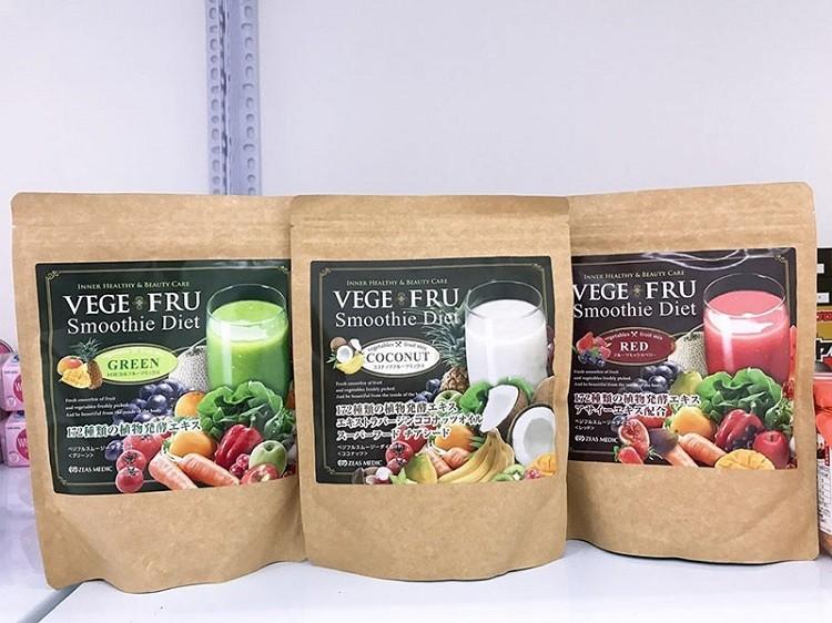 Bột rau củ quả vege fru smoothie diet review có tốt không?
