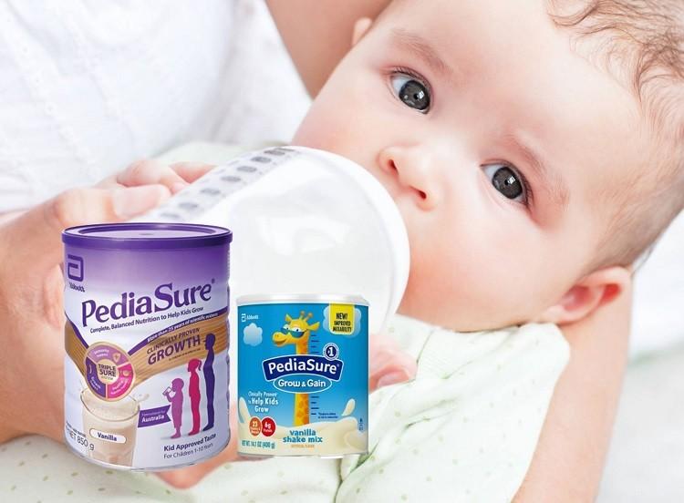 Review dòng sữa PediaSure chính hãng của Abbott