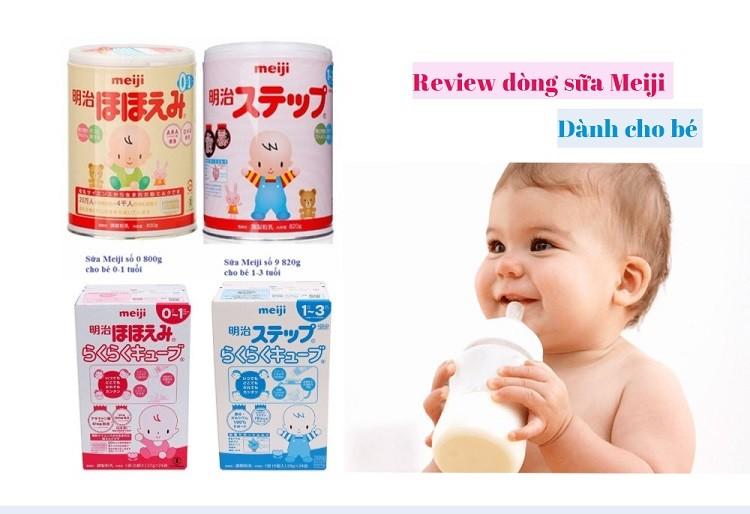 [Review] Lý do mẹ nên chọn dòng sữa Meiji cho trẻ