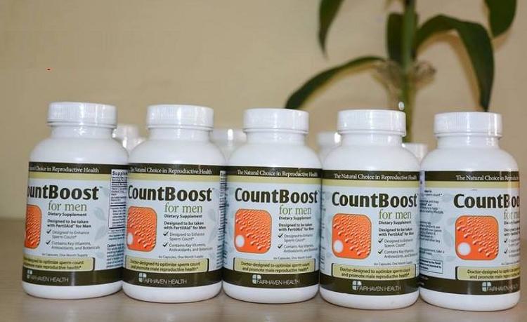 [Review] Viên uống CountBoost For Men gia tăng số lượng tinh trùng cho nam giới