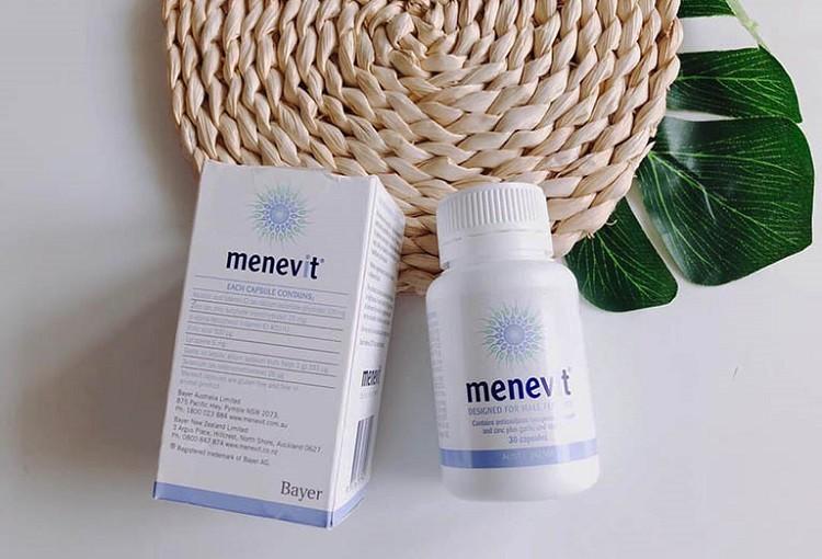 Review viên uống Menevit dành cho nam giới có tốt không?