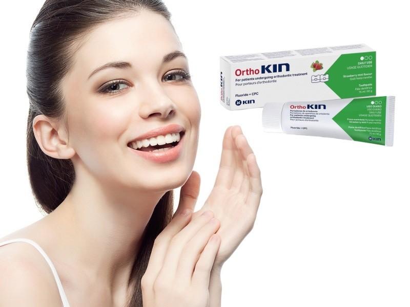 Review kem đánh răng cho răng niềng Kin Ortho 75ml