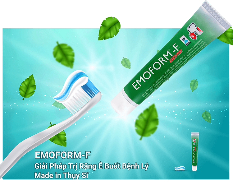 Review kem đánh răng đặc trị ê buốt và viêm lợi Emoform - F
