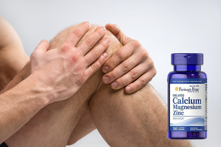 [Review] Viên uống Puritan's Pride Calcium Magnesium Zinc 100 viên