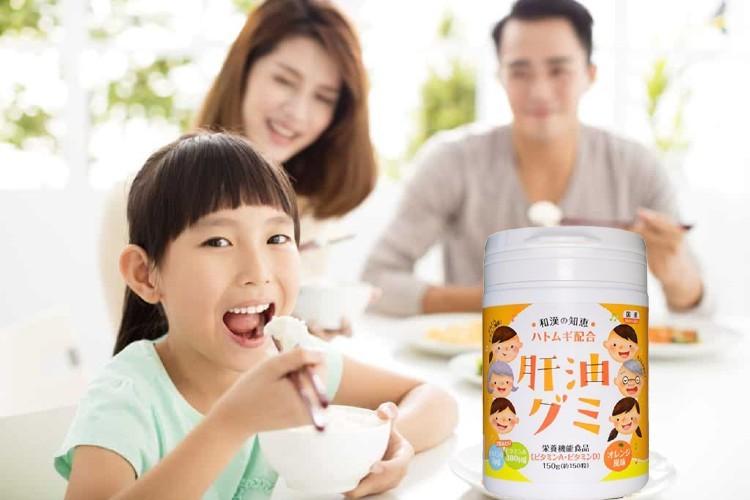 Review kẹo biếng ăn Kanyu Gumi có tốt không?