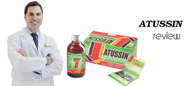 Review thuốc ho Atussin cho trẻ có tốt không