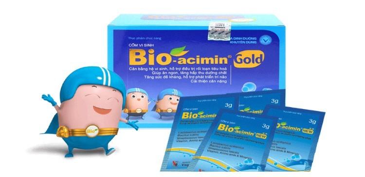 Bio-Acimin Gold dùng cho trẻ mấy tháng