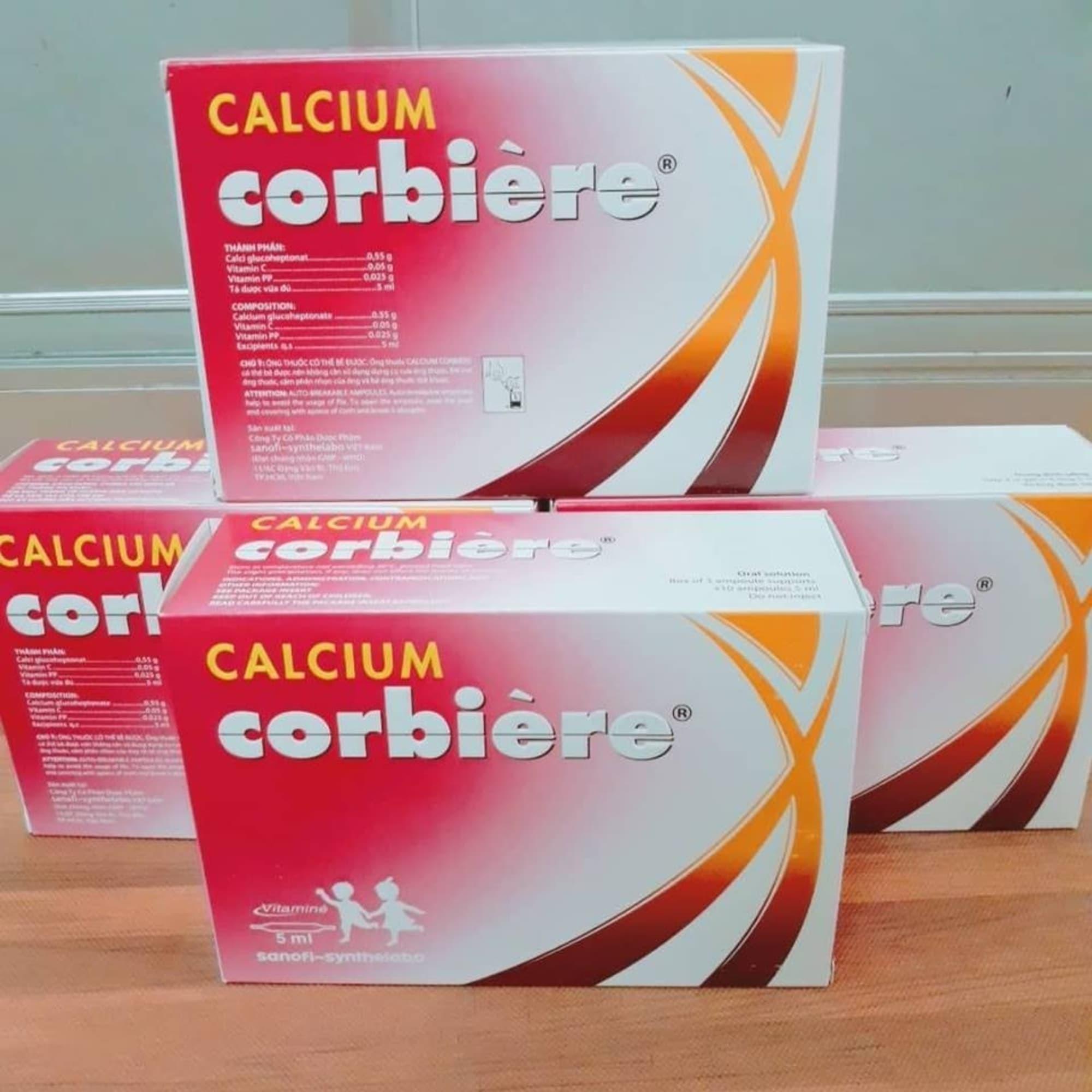 [GIẢI ĐÁP] Trẻ sơ sinh có uống được Canxi Corbiere không?