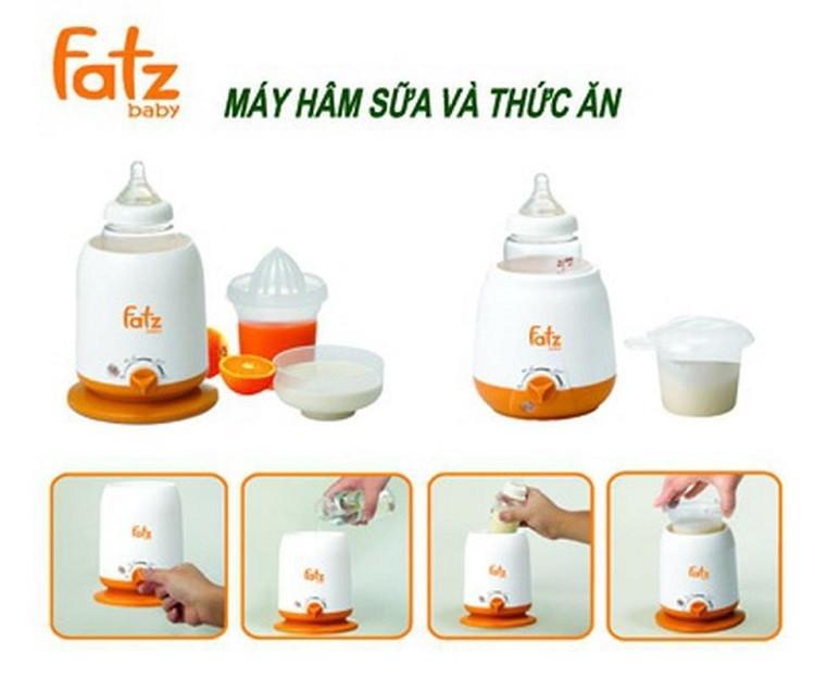 Review máy hâm sữa Fatz 4 chức năng từ người dùng