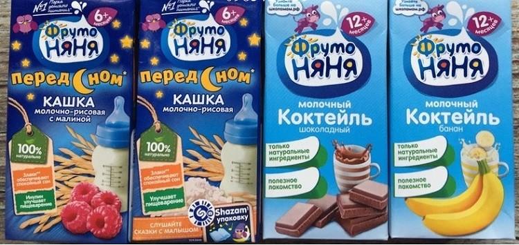 Review sữa Fruto Nyanya ngũ cốc của Nga