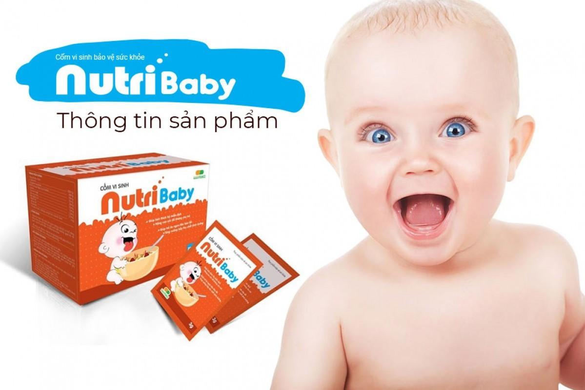 Cốm vi sinh Nutribaby có tốt không? Giá bao nhiêu?