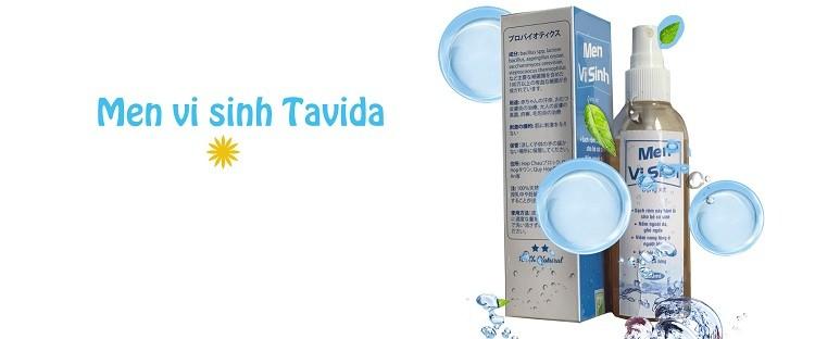 Review men vi sinh Tavida trị viêm nang lông và mụn lưng