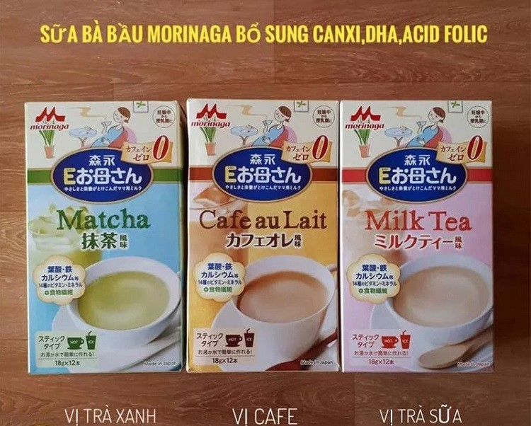 Nên uống sữa bầu Morinaga vào lúc nào chia sẻ từ chuyên gia