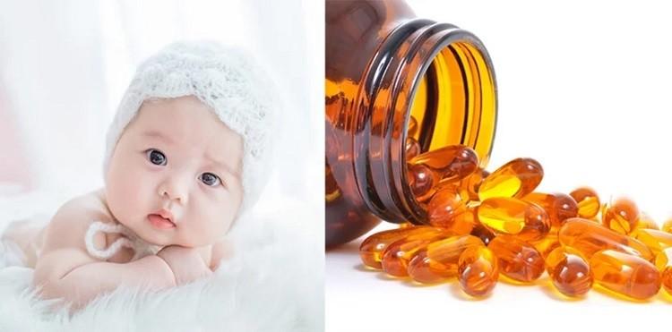 Trẻ mấy tháng uống vitamin A