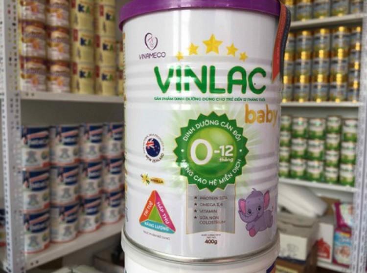 Sữa Vinlac Baby có tốt không, giá bao nhiêu