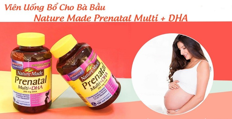 Nature Made Prenatal Multi + DHA có tốt không?