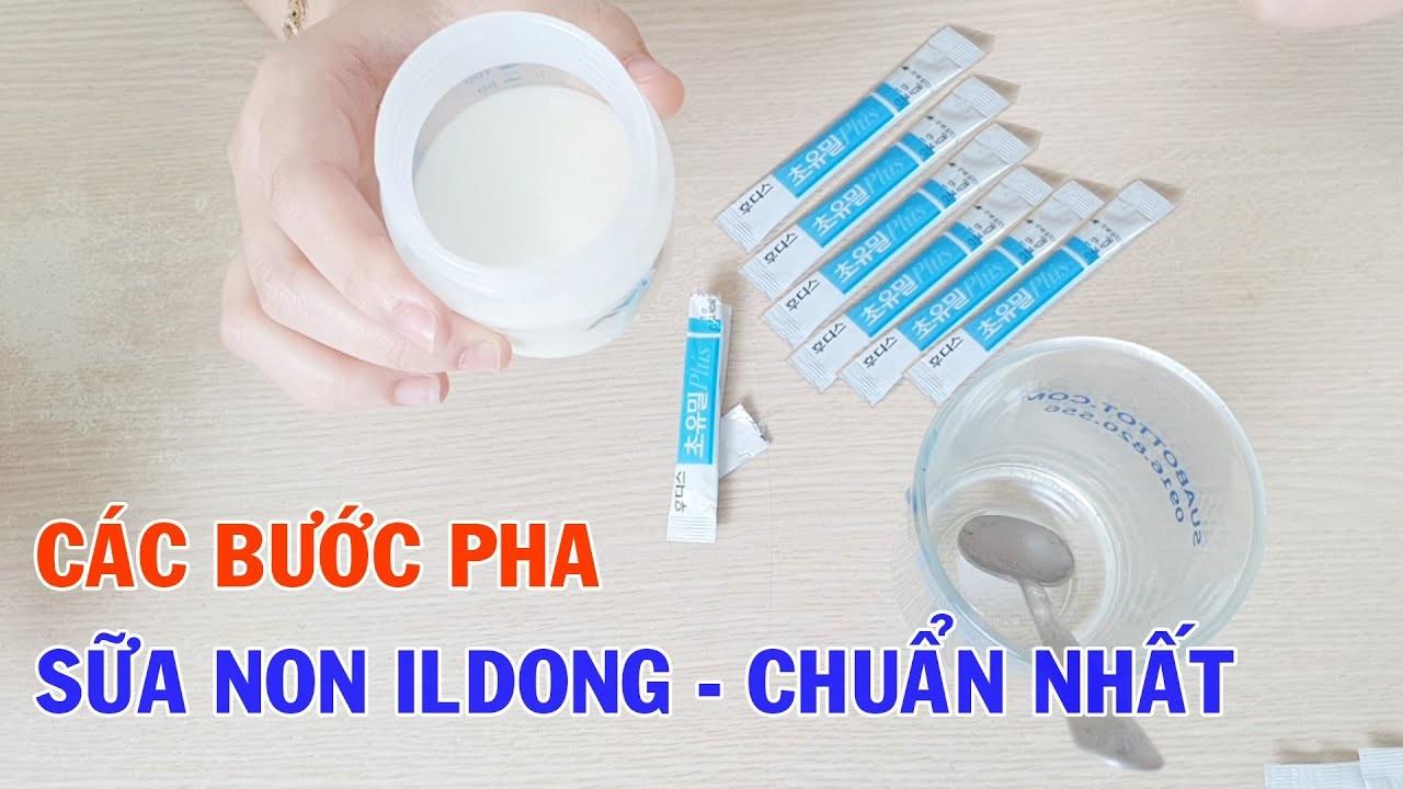 Cách dùng sữa non ILdong chia sẻ từ chuyên gia dinh dưỡng