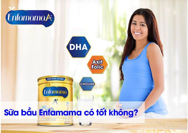 Review sữa bầu Enfamama có tốt không