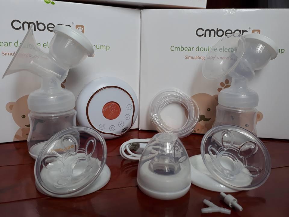 Review máy hút sữa điện đôi CMbear có tốt không