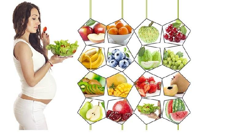 Những loại trái cây bổ máu cho bà bầu