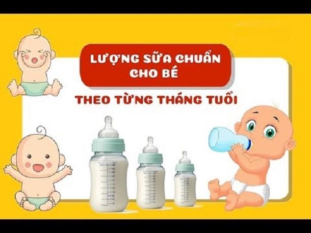 Hướng dẫn mẹ công thức tính lượng sữa cho trẻ sơ sinh chuẩn xác