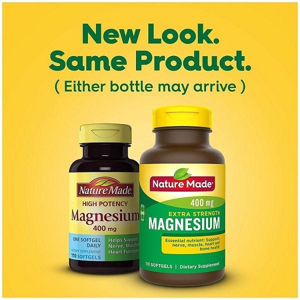 [VẠCH TRẦN] Top 4 viên uống Magnesium Nature Made có nên sử dụng không?