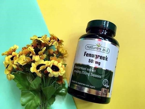 Cách dùng Fenugreek 500mg Natures Aid cho hiệu quả tốt nhất
