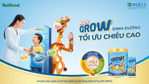 Review sữa Nuvi Grow