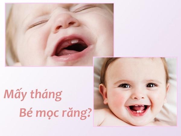 Trẻ sơ sinh mấy tháng mọc răng? Trình tự mọc răng của trẻ