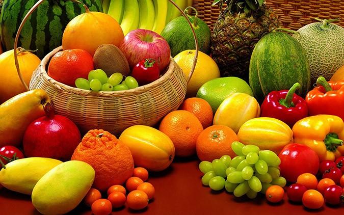 Các loại vitamin có nhiều trong rau, củ, quả