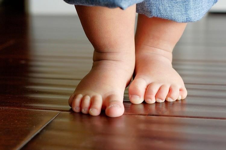 Biểu hiện bất thường ở vùng chân