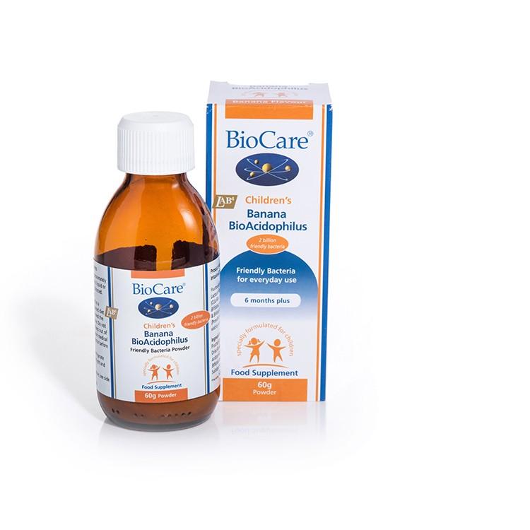 Men vi sinh Biocare Banana BioAcidophilus