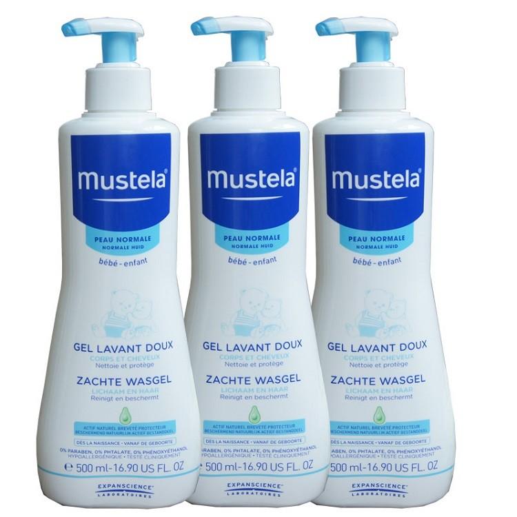 Sữa tắm Mustela