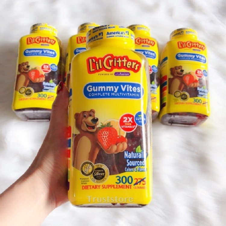 Kẹo gấu dẻo L'il Critters Immune