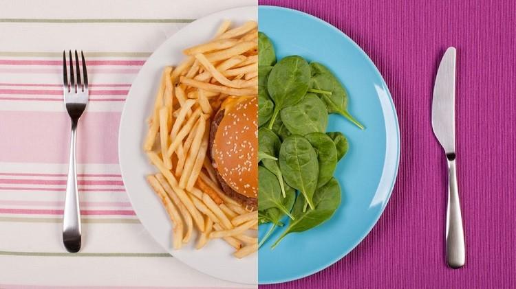 Nói không với các loại thức ăn nhanh