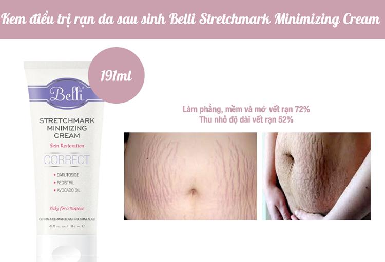 Belli – Stretchmark Minimizing Cream