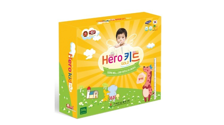 Hero Kid Gold