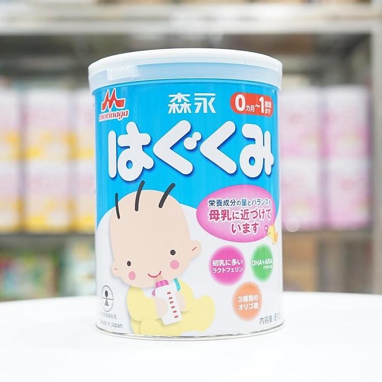 sữa Morinaga số 0 cho bé từ 0-12 tháng tuổi