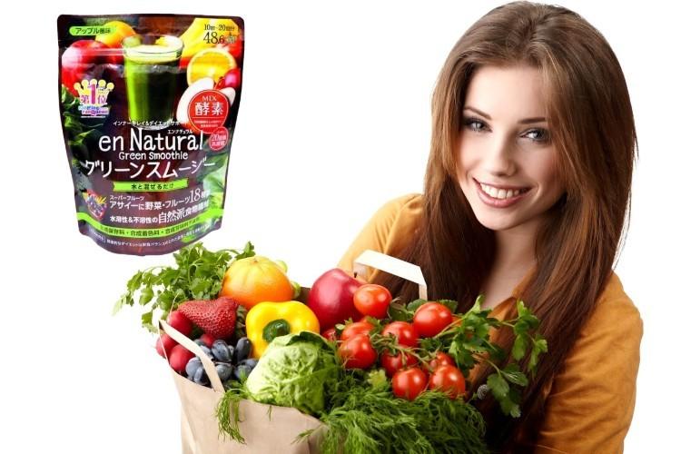 Thành phần từ bột rau củ Acai Berry Smoothie an toàn và hiệu quả