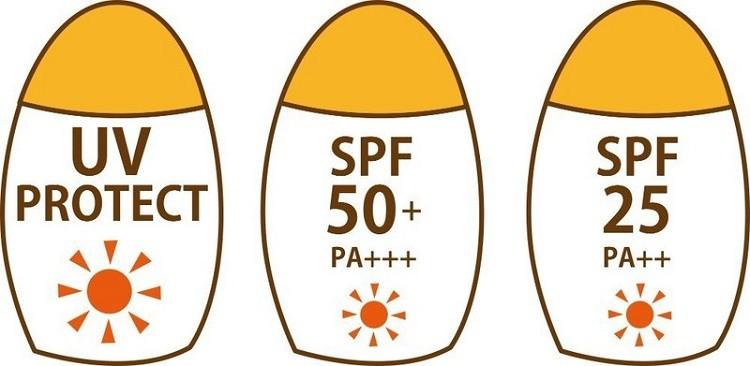 chỉ số chống nắng SPF phù hợp