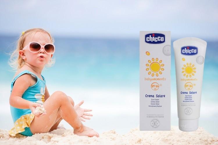Kem chống nắng cho trẻ Chicco