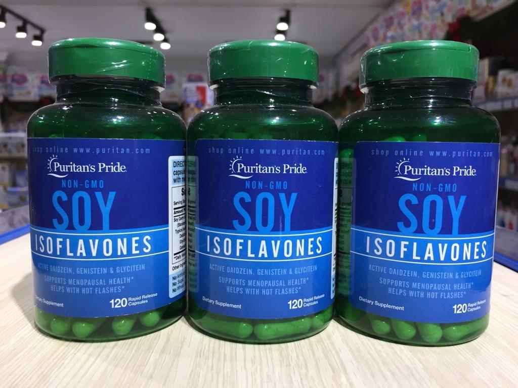 Viên uống Estrogen Non-GMO Soy Isoflavones