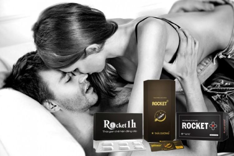 Rocket là bộ sản phẩm hỗ trợ tăng cường sinh lý của Sao Thái Dương