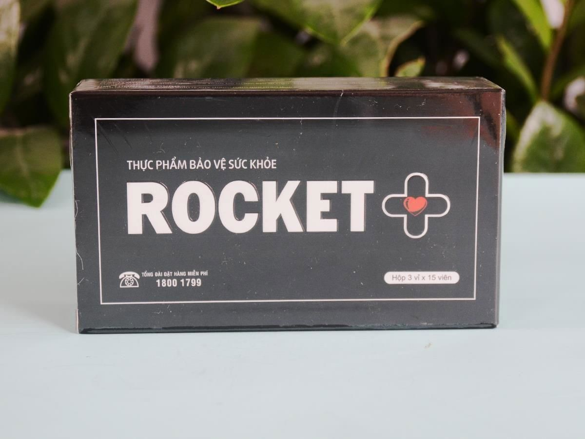 Rocket plus cũng có thành phần tốt cho sức khỏe người sử dụng