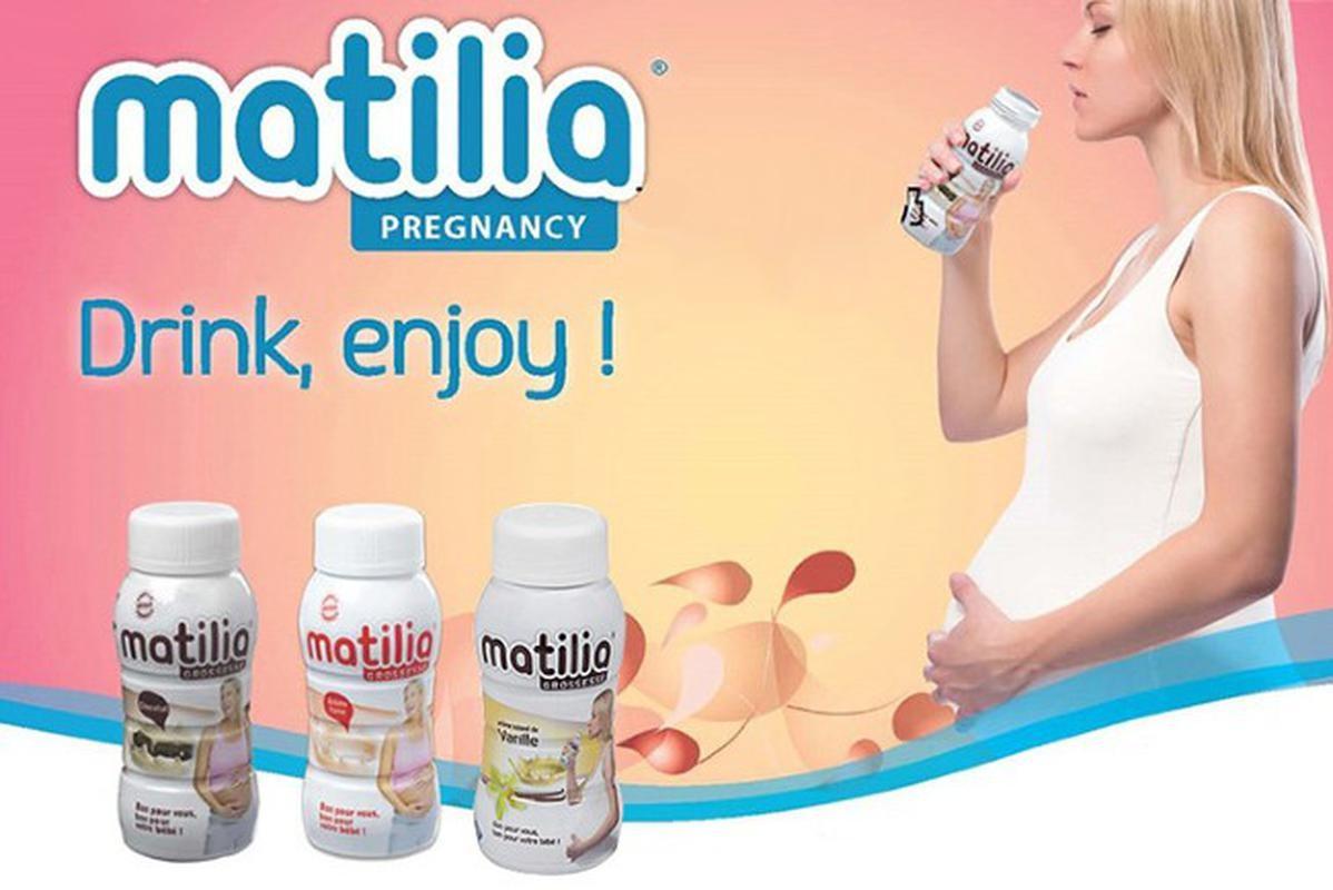 Sữa bầu Matilia của Pháp