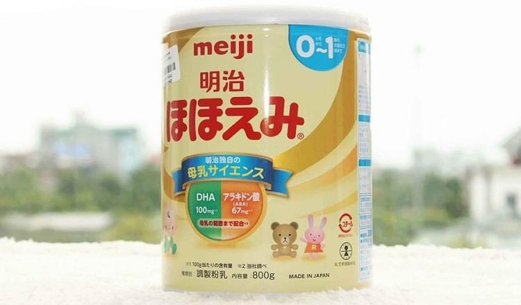 sữa Meiji số 0 cho trẻ 0-1 tuổi